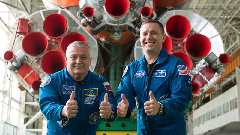 Nowi członkowie ekipy ISS - Fyodor Jurczichin i Jack Fisher (NASA)