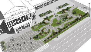 Plac Teatralny: parking zmieni się w ogród