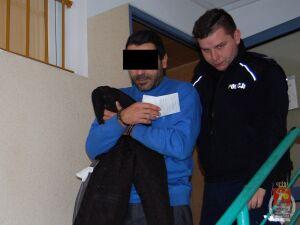 Naczelnik wołomińskiej drogówki zatrzymał podejrzanego o kradzież
