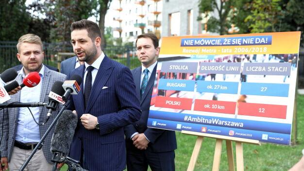 Jaki chce zobaczyć metro w Bułgarii. Trzaskowski: służę pomocą