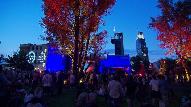 Jeden z poprzednich koncertów w Parku Wolności archiwum TVN24
