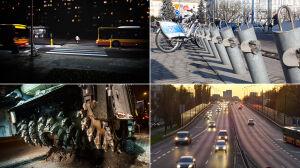 Odbudowa Łazienkowskiego, nowe trasy rowerowe i Veturilo