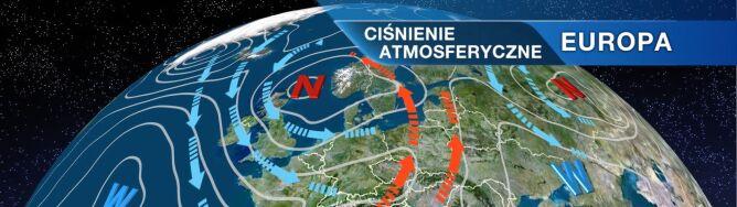 Co wpłynie na pogodę w Polsce? <br />Zatoka niżowa i fronty atmosferyczne