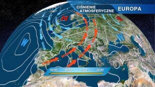 Co wpłynie na pogodę w Polsce? Zatoka niżowa i fronty atmosferyczne