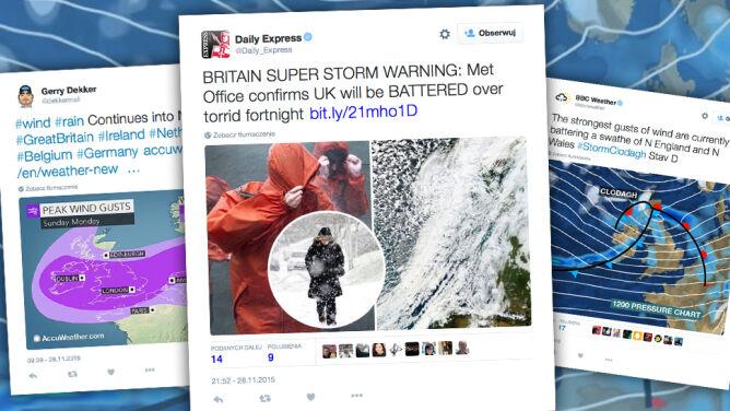 Wichury i śnieżyce w Wielkiej Brytanii. Warunki pogodowe będą trudne