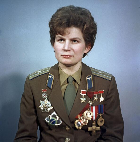 Walentina Tierieszkowa, pierwsza kobieta w kosmosie (fot. RIA Novosti archive, image #612748 / Alexander Mokletsov / CC-BY-SA 3.0)