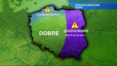 Utrudnienia na drogach we wschodniej Polsce
