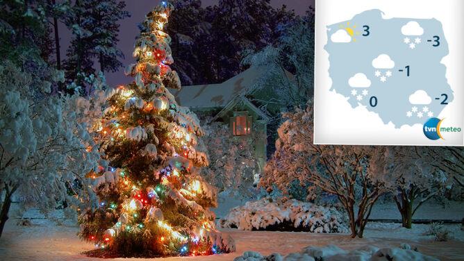 Pierwsza prognoza pogody na Boże Narodzenie. Miejscami szansa na białe święta