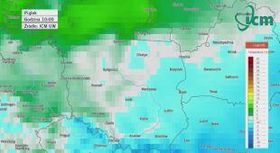 Temperatury w sylwestra i Nowy Rok